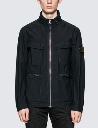 Stone Island Mussola Gommata Coat Jacket