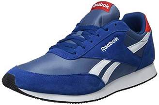 1012911a0b6 Reebok Men s Royal Cl Jogger 2 Fitness Shoes Multicolour (Hs Bunker Blue  Slate