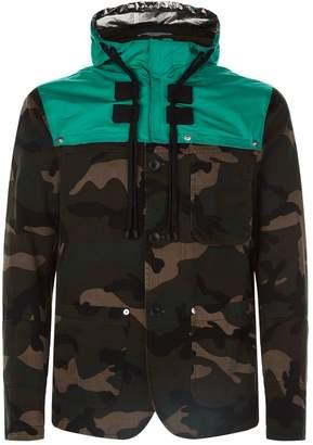 Valentino Dutch Hood Camo Jacket