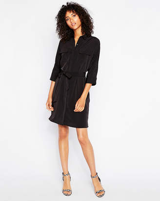 Express Dolman Sleeve Shirt Dress