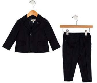 Armani Junior Boys' Two-Piece Suit Set w/ Tags