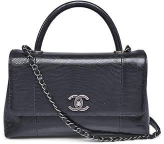 Chanel Coco Handle Flap Black