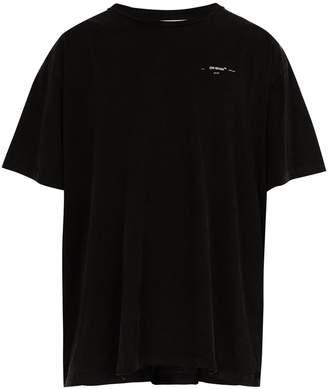 Off-White 3D-line cotton T-shirt