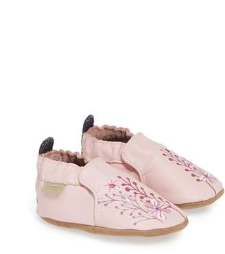 Robeez R) Blooming Floral Crib Shoe