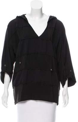 Ella Moss Hooded Dolman Sweatshirt