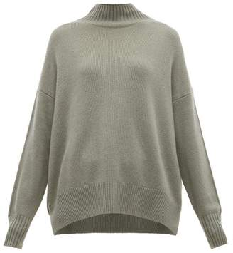 Allude High Neck Cashmere Sweater - Womens - Green