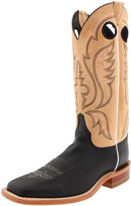 """Justin Boots Men's U.S.A. Bent Rail Collection 13"""" Boot Wide Square Double Stitch Toe Leather Outsole, Calf/Toast Tumbleweed"""