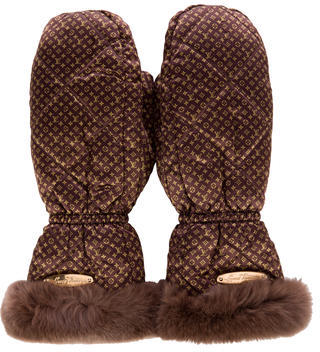 Louis Vuitton Louis Vuitton Monogram Igloo Gloves