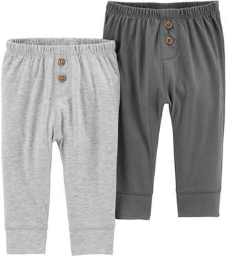 Carter's Baby Boy 2-pack Solid Pants