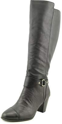 Giani Bernini Cagney Wide Calf Women US 6 Black Knee High Boot