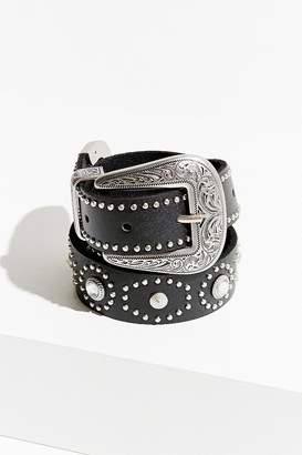 Urban Outfitters Stud + Stone Metal-Tipped Western Belt