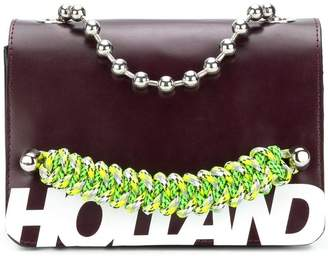 House of Holland branded top handle bag