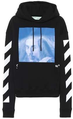 Off-White Bernini printed cotton hoodie