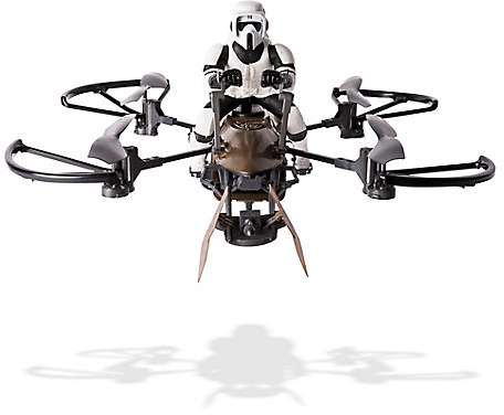 Disney Remote Control 74-Z Speeder Bike Drone with Rider - Star Wars