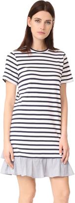 Clu Ruffle Tee Dress $183 thestylecure.com