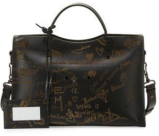 Balenciaga Blackout City AJ Love Shoulder Bag $2,950 thestylecure.com