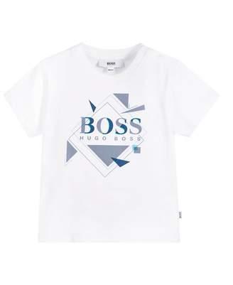HUGO BOSS Kids Graphic Logo T-shirt
