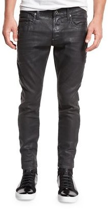 G-Star Revend Super-Slim Coated Jeans, Cobbler Restored 93 $190 thestylecure.com
