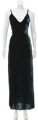 Lovers + Friends Velvet Maxi Dress w/ Tags