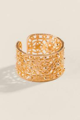 francesca's Ciara Filigree Band Ring - Gold