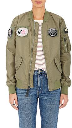 Alpha Industries Women's L-2B Flex Jacket $215 thestylecure.com