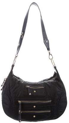 Tod's Leather-Trimmed Pashmy Hobo