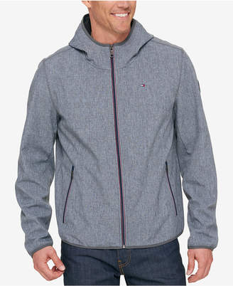 Tommy Hilfiger Men's Hooded Soft Shell Jacket