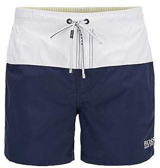 HUGO BOSS Swim shorts in quick-drying technical fabric