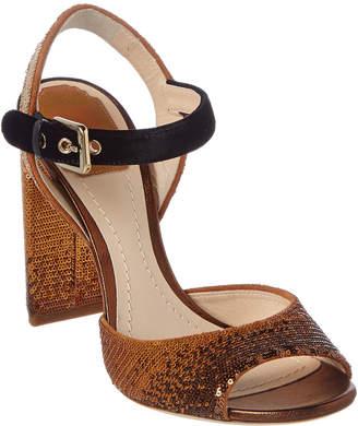 Christian Dior Sequin Embellished Heeled Sandal