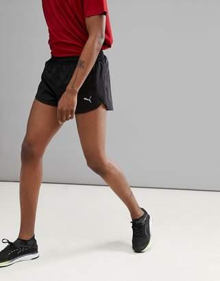 Puma Core Run Split Shorts In Black 51501201
