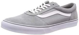 Vans Women s Maddie Low-Top Sneakers Suede Canvas Black White Iju 4d445f728