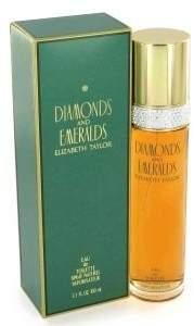 Elizabeth Taylor Diamonds & Emeralds for Women Gift Set - 100 ml EDT Spray + 100 ml Body Lotion