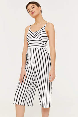 b902d61b19f Ardene Super Soft Striped Culotte Jumpsuit