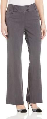 Rafaella Women's Curvy Fit Gabardine Pant