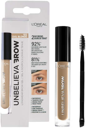 L'Oreal Unbelieva'brow Long-Lasting Brow Gel (Various Shades) - 102 Cool Blonde