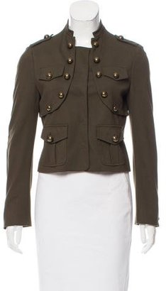 Moschino Cheap & Chic Moschino Cheap and Chic Embellished Snap-Up Jacket w/ Tags