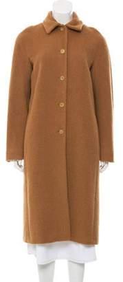 Barneys New York Barney's New York Wool-Blend Long Coat