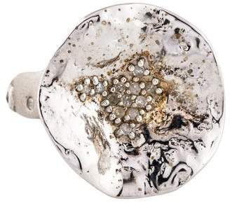 Coomi Diamond Serenity Large Flower Ring