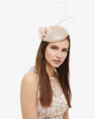Phase Eight Candice Sequin Pillbox Fascinator