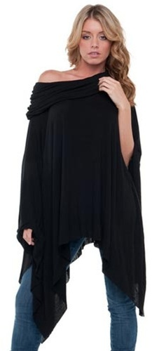 Elan International Drape Poncho