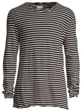 Ksubi Sinister Long Sleeve Striped T-Shirt