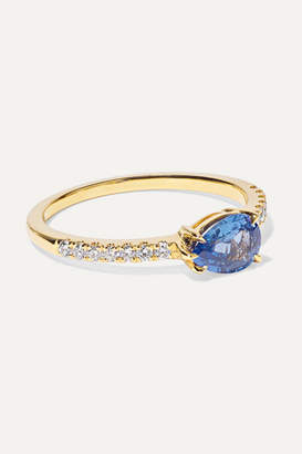 Anita Ko 18-karat Gold, Sapphire And Diamond Ring - 6