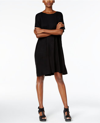 Eileen Fisher Jersey Shift Dress $178 thestylecure.com
