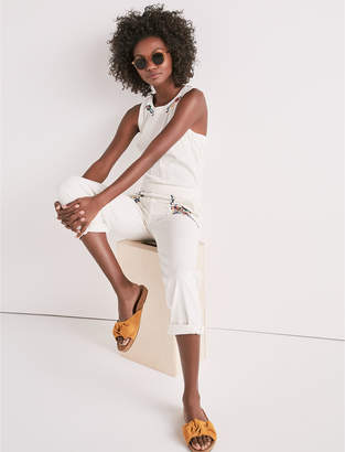 Lucky Brand TOMBOY JUMPSUIT WITH EMBROIDERY