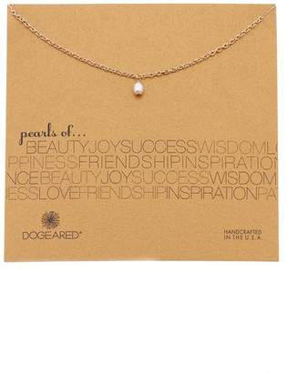 Dogeared Pearls of Dewdrop 5mm Pearl Pendant Necklace
