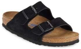 Birkenstock Arizona Suede Double-Strap Sandals