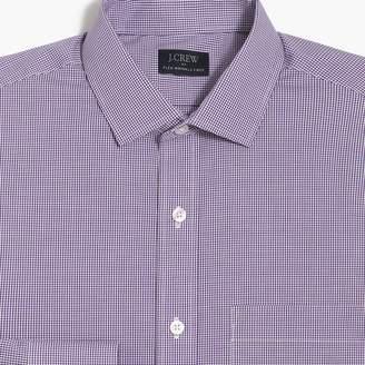J.Crew Factory Thompson Slim-fit flex wrinkle-free shirt in mini gingham