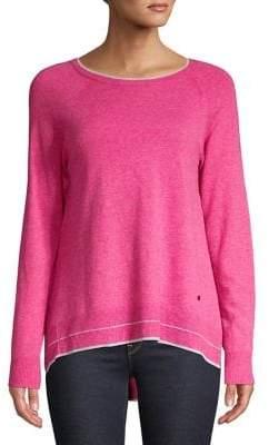 Olsen High-Low Knit Sweater