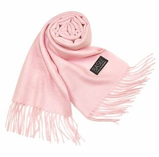Basile Extra-Soft Solid Cashmere Long Scarf