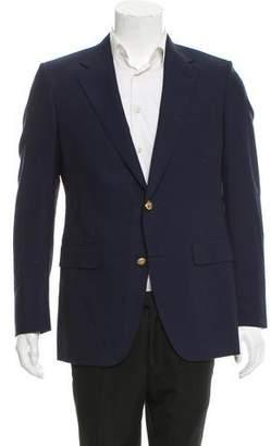 Valentino Wool Two-Button Blazer